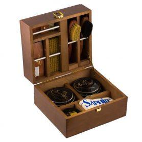Подарочный набор для обуви Saphir в твердом несессере