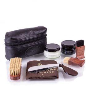 Подарочный набор для чистки обуви La Cordonnerie Anglaise в мягком чехле