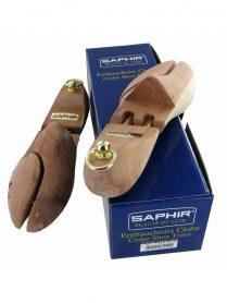 Полноразмерные кедровые колодки для обуви Saphir